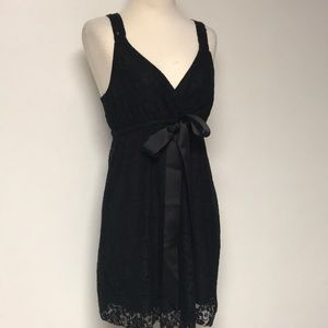 """""""The Limited """" Black Lace Dress"""